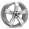 "Enkei Performance GP5 18"" Silver Machined w/Clearcoat Rims Set of 4 - RSX 02-04"