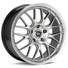 "Enkei Performance Lusso 18"" Hyper Silver Rims - Acura RSX"