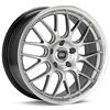 "Enkei Performance Lusso 18"" Hyper Silver Rims - Acura RSX"