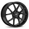 "Enkei Performance M52 17"" Black Painted Rims Set of 4 - RSX 02-04"