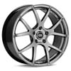 "Enkei Performance M52 17"" Hyper Black Rims Set of 4 - RSX 02-04"