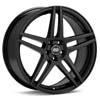 "Enkei Performance RSF5 16"" Black Painted Rims Set of 4 - RSX 02-04"