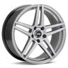 "Enkei Performance RSF5 17"" Hyper Silver Rims Set of 4 - RSX 02-04"