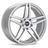 "Enkei Performance RSF5 17"" Silver Machined w/Clearcoat Rims Set of 4 - RSX 02-04"
