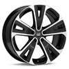 "Enkei Performance SVX 18"" Machined w/Black Accent Rims Set of 4 - RSX 02-04"