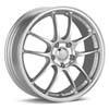 "Enkei Racing PF01 17"" Bright Silver Paint Rims Set of 4 - RSX 02-04"