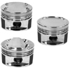 Manley 86mm STD Bore 9.0:1 Dish Piston Set with Rings - RSX Base 02-06