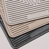 Highland Black Rubber FRONT Floor Mats set - RSX 02-06