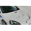 Ings+1 N-Spec Carbon Fiber Aero Hood - RSX 05-06