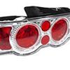 Matrix Red Eye Gem Style Taillights set of 2 - RSX 02-04
