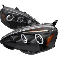 Spec-D 02-04 ACURA RSX DUAL HALO PROJECTOR HEADLIGHTS