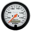 Autometer Metric In-Dash Tachs & Speedos Speedometer gauge 3 3/8