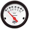 """Autometer Metric Short Sweep Electric Oil Pressure gauge 2 1/16"""" (52.4mm)"""