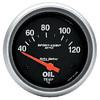 "Autometer Metric Short Sweep Electric Oil Temperature gauge 2 5/8"" (66.7mm)"