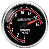 "Autometer Nexus Full Sweep Electric Nitrous Pressure gauge 2 1/16"" (52.4mm)"