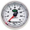 "Autometer NV Full Sweep Electric Pyrometer gauge 2 1/16"" (52.4mm)"