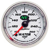 "Autometer NV Full Sweep Electric Water Temperature gauge 2 1/16"" (52.4mm)"