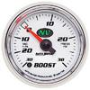 "Autometer NV Full Sweep Electric Boost / Vacuum gauge 2 1/16"" (52.4mm)"