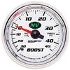 "Autometer NV Mechanical Boost / Vacuum gauge 2 1/16"" (52.4mm)"
