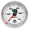 "Autometer NV Mechanical Oil Pressure gauge 2 1/16"" (52.4mm)"