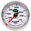 "Autometer NV Mechanical Water Temperature gauge 2 1/16"" (52.4mm)"