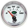 "Autometer NV Short Sweep Electric Oil Pressure gauge 2 1/16"" (52.4mm)"