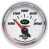 "Autometer NV Short Sweep Electric Trans Temperature gauge 2 1/16"" (52.4mm)"