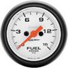 """Autometer Phantom Full Sweep Electric Fuel Pressure gauge 2 1/16"""" (52.4mm)"""