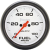 "Autometer Phantom Full Sweep Electric Fuel Pressure gauge 2 5/8"" (66.7mm)"