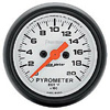 "Autometer Phantom Full Sweep Electric Pyrometer gauge 2 1/16"" (52.4mm)"