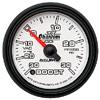 """Autometer Phantom II Full Sweep Electric Boost / Vacuum Gauge 2 1/16"""" (52.4mm)"""