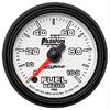 """Autometer Phantom II Full Sweep Electric Fuel Pressure Gauge 2 1/16"""" (52.4mm)"""