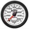 "Autometer Phantom II Full Sweep Electric Trans Temperature Gauge 2 1/16"" (52.4mm)"