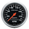 Autometer Phantom II In-Dash Tachs & Speedos Speedometer Electronic Programmable Metric
