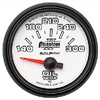 "Autometer Phantom II Short Sweep Electric Oil Temperature Gauge 2 1/16"" (52.4mm)"