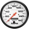 "Autometer Phantom In-Dash Tachs & Speedos Speedometer gauge 5"" (127mm)"