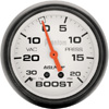 "Autometer Phantom Mechanical Boost / Vacuum gauge 2 5/8"" (66.7mm)"