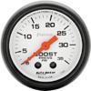 "Autometer Phantom Mechanical Boost gauge 2 1/16"" (52.4mm)"