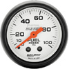 "Autometer Phantom Mechanical Fuel Pressure gauge 2 1/16"" (52.4mm)"