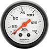 "Autometer Phantom Mechanical Oil Pressure gauge 2 1/16"" (52.4mm)"