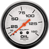 "Autometer Phantom Mechanical Oil Pressure gauge 2 5/8"" (66.7mm)"