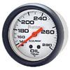 "Autometer Phantom Mechanical Oil Temperature gauge 2 5/8"" (66.7mm)"