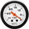 "Autometer Phantom Mechanical Vacuum gauge 2 1/16"" (52.4mm)"