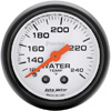 "Autometer Phantom Mechanical Water Temperature gauge 2 1/16"" (52.4mm)"