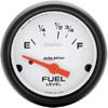 "Autometer Phantom Short Sweep Electric Fuel Level gauge 2 1/16"" (52.4mm)"
