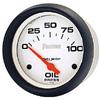 """Autometer Phantom Short Sweep Electric Oil Pressure gauge 2 5/8"""" (66.7mm)"""