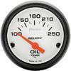 "Autometer Phantom Short Sweep Electric Oil Temperature gauge 2 1/16"" (52.4mm)"