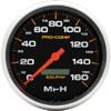 """Autometer Pro Comp In-Dash Tachs & Speedos Speedometer Programmable Gauge 5"""" (127mm)"""