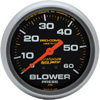 "Autometer Pro Comp Liquid Filled Mechanical Blower Pressure Gauge 2 5/8"" (66.7mm)"