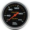 "Autometer Pro Comp Liquid Filled Mechanical Oil Pressure Gauge 2 5/8"" (66.7mm)"